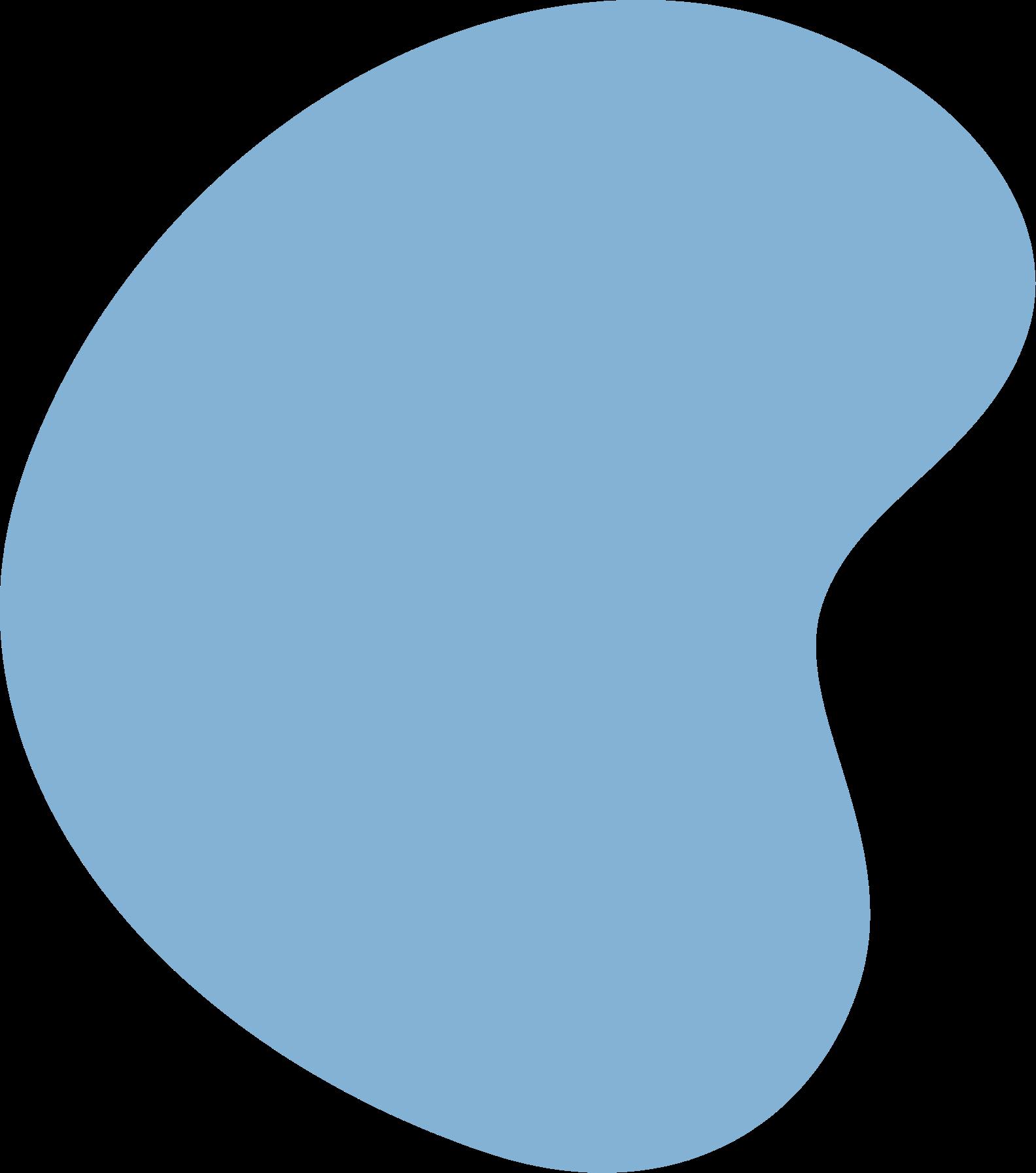 Blue Background Blob