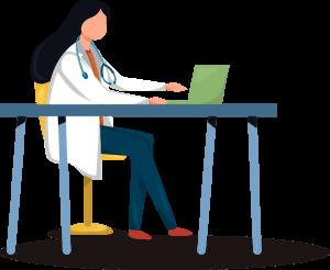 Pathologist Illustration
